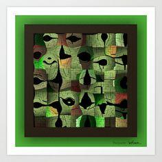 The puzzle Art Print by Stancu Digital Art