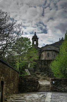 Monasterio de caveiro.  Fragas do eume