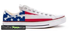 Converse Mexican Flag Shoes