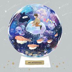【ヒラ】『綺麗そして可愛いそしてすし』[佐々野めめ] Glass Cages, Anime Art, Animation, Poses, Illustration, Pictures, Image, Pretty, Youtube