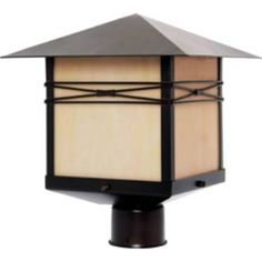Superior Check Out The Maxim Lighting 8044IRBU Taliesin 1 Light Outdoor Post Light  In Burnished Outdoor Lamp