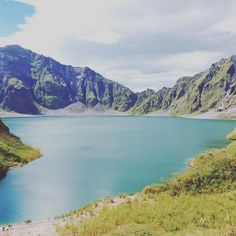 Lake Pinatubo was formed after the eruption of Mount Pinatubo in 1991. Today it is the deepest lake in the Philippines and a popular spot for hikers and other tourists.
