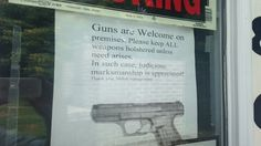 A Maryville restaurant owner says putting up a sign to welcome gun carriers was the best decision she