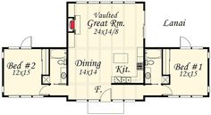 Contemporary Getaway Home Plan - 85021MS   Architectural Designs - House Plans