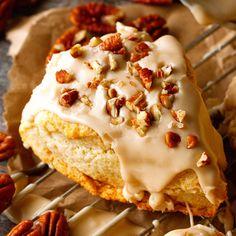 Maple Nut Scones Recipe - RecipeChart.com