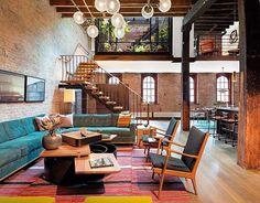 from @modern.architect - Tribeca Loft by Andrew Franz Architect, Manhattan #NewYork #Usa ...