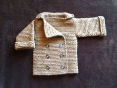 Double+breasted+infant+sweater+by+WestCoastCozies+on+Etsy,+$40.00