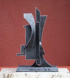 Erebus, is a abstract metal sculpture by Richard Arfsten