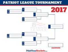 Patriot League Conference Tournament Bracket 2017