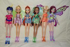 My Winx dolls by Sin.da.a.ta.ri.en, via Flickr