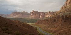 #capitol reef national park #cliffs #cloudy #drive #dry #landscape #outdoors #panorama #road #scenic #usa #utah #wilderness