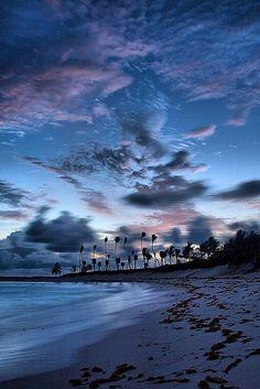 Cabbage Beach Before Dawn, Bahamas