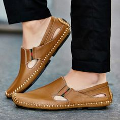 2017 New Arrival Big Size Summer Men Driving Shoes Genuine Leather Good Quality Soft Men Loafers Comfortable Plus Size 45 46 47