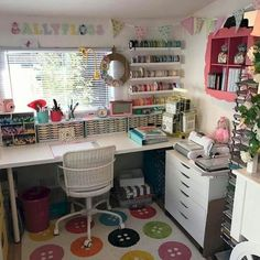 Related posts: 30 Awesome Craft Rooms Design Ideas 30 Awesome Craft Rooms Design Ideas Best Small Craft Room e Sewing Room Design Ideas On a Budget 25 Best Craft Room Design and Furniture Ideas by IKEA Sewing Room Design, Sewing Room Storage, Craft Room Design, Craft Room Decor, Sewing Room Organization, Craft Room Storage, Home Decor, Organizing Ideas, Storage Ideas