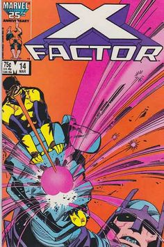 X-Factor is an American comic book series published by Marvel Comics. It is a spin-off from the popular X-Men franchise, featuring characters from X-Men stories. The series has been relaunched several times with different team rosters, most recently in X-Factor v. 3 as X-Factor Investigations.