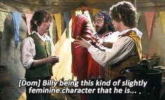Behind The Scenes of Bilbo's party