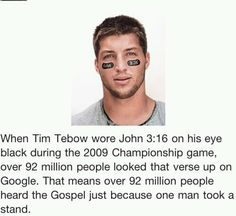 Let's all take a stand for Jesus!!