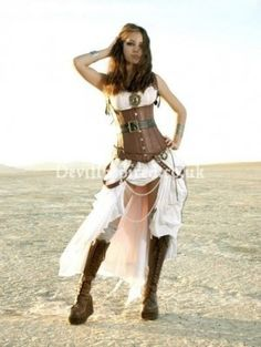 super sexy awesome steampunk costume...le sigh