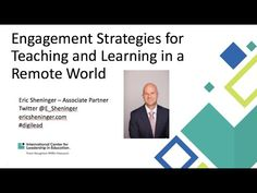 30-minute webinar recording Cooperative Learning Activities, Learning Environments, The Fosters, Remote, Classroom, Technology, Teaching, Engagement, Education