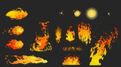 Rayman Legends - 2D VFX - Ubisoft - 2/2. Flash animation.  Please do not reproduce without my permission.
