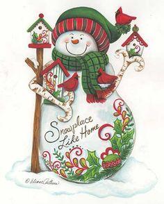 .CHRISTMAS SNOWMAN