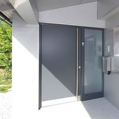 uPVC aluminium clad Entrance Doors