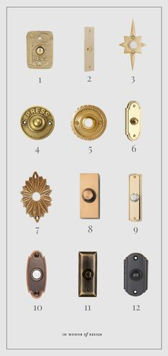 Our Front Door Makeover + Outdoor Hardware Guides | In Honor Of Design