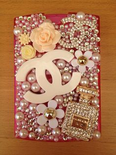 Cute bling Pink eyelashes case by blingbeme on Etsy, $45.00