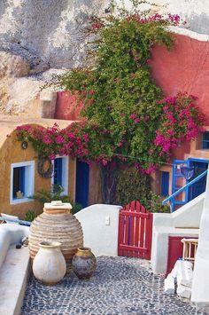 House in Santorini, Greece