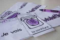 Teach the colours in french with this flip book! Un livre à cachettes. Students cut and paste or staple each of the pages and create their own booklet! Numeracy Activities, Literacy And Numeracy, Teaching Resources, Teaching Ideas, French Conversation, Literacy Centres, French Colors, Crayola, Teaching Colors