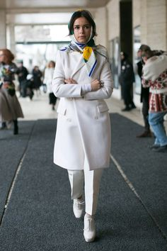 New York Fashion Week Fall 2014 Attendees Pictures - StyleBistro