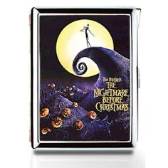 NIGHTMARE BEFORE CHRISTMAS 03 Cigarette Case Card Holder Lighter