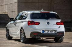 New BMW 1 Series 2015 M Sport tail