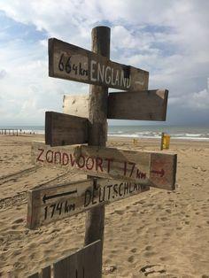 Driftwood signs Noordwijk aan zee