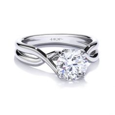 Christopher William Jewelers :: Hearts On Fire Simply Bridal Twist ...