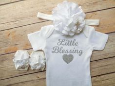 baptism outfit baby girl baptism outfit by QueenBeeBoutique127