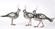 Having always been inspired by the grace and beauty of birds, artist Celia Smith's wire sculptures seek to replicate their energy as true to life as possible. The wire, she feels, has a sense of life to it that makes it the perfect medium of choice for her work. And as her sculptures are meant …