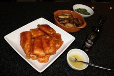 Beer, Soda and Masala Battered Fish - Whole Meal :)