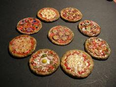 The Mini Food Blog: Pizza ~ Marcella Perodo