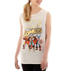 Marvel® Heroes Muscle Tank Top   found at @JCPenney