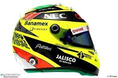 Perez's 2016 helmet