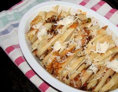 Terrina di patate e funghi misti