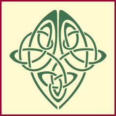 Celtic trinity, celtic stencil designs,celtic stencil, celtic knot stencil