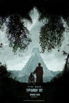 Fan made Star Wars Episode VII poster