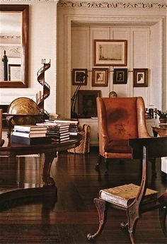 Bill Blass.....the BEST apt ..........view of his bedroom.