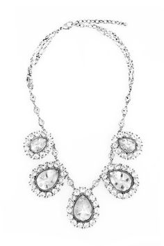 Crystal Envy Necklace by Badgley Mischka Jewelry for $50 | Rent The Runway