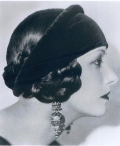 Winifred Kimball Shaughnessy BKA Natacha Rambova, dancer, designer, actress, feminist, and second wife of Rudolph Valentino.