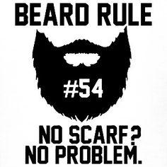 "Beard rule no. 54: ""No scarf? No problem."" Saved by the beard  #beard #beards #bearded #beardman #fullbeard #men #beardlife #beardgang #sunday #beardedman #life #instapic #picoftheday #beardsofinstagram #pic #picture #fun #quote #fitfamdk #fitness #bodybuilding #cycling #crossfit #fitfam #boxing #running #mma #beardgrowth #beardrules #amazing by the_beard_journey"