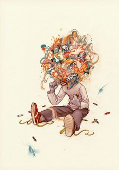The Creative Brain -- this is exactly how my brain feels most of the time!