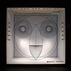GamFratesi+designs+animalistic+Apple+Watch+window+display+for+Hermès